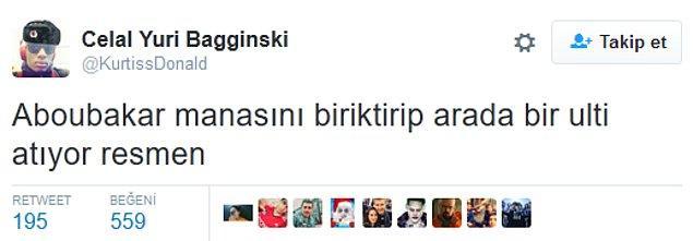 4. Aboubakar'ın golünden sonra;