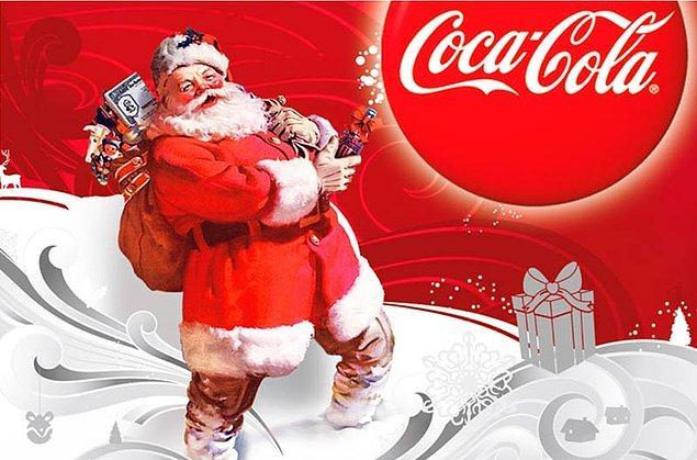 5. Modern Noel Baba imajı ise Coca Cola'ya ait.