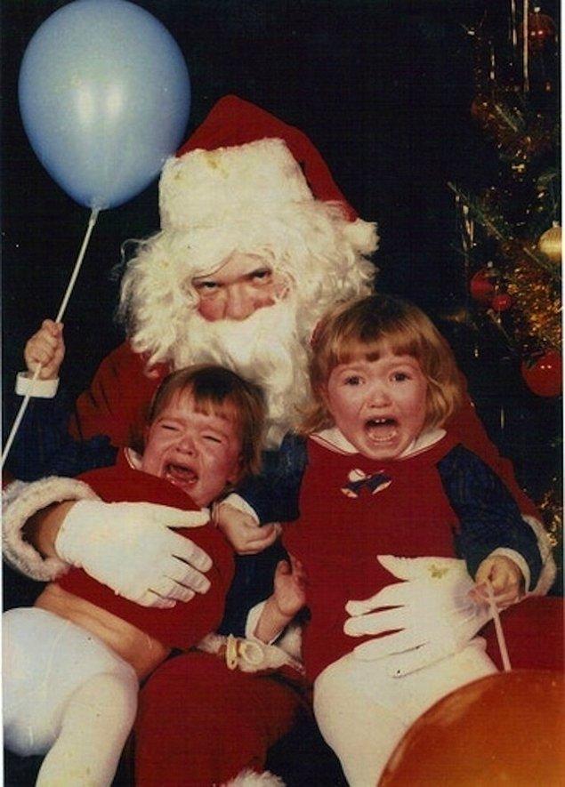 12. Noel Baba korkusu oldukça yaygın ve adı da Santafobi.
