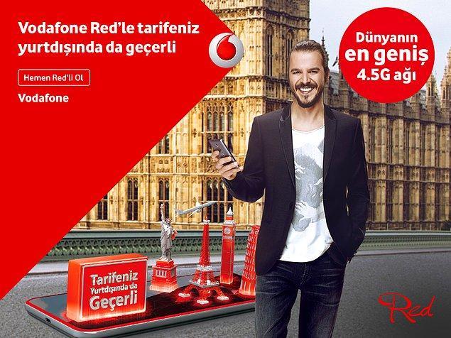 Ama Vodafone Red'liysen bunları yaşamana gerek yok! Her Şey Dahil Pasaport ile 51 ülkede tarifendeki dakikanı, SMS'ini ve internetini aynen Türkiye'deymiş gibi kullanır, sevdiklerinle konuşur,çektiğin fotoğrafları paylaşırsın.