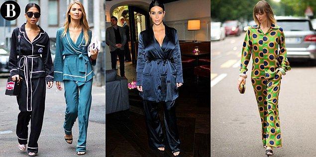 10. 2016 yılında moda olan 'pijamanı sokağa taşı' modası en çok onu sevindirmiştir.
