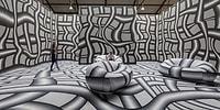 Avusturyalı Sanatçının Görenleri Detaylarıyla Hipnotize Eden Optik Yanılsama Odaları
