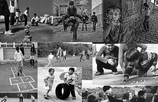 4. Hayatın televizyon karşısında değil sokakta aktığı, tüm oyunların dışarıda oynandığı özlem duyduğumuz yıllardı.