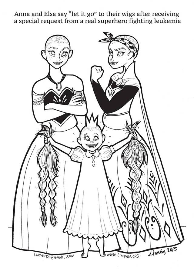 çocuklar Için çizdiği Disney Prensesleri Boyama Kitabı Ile