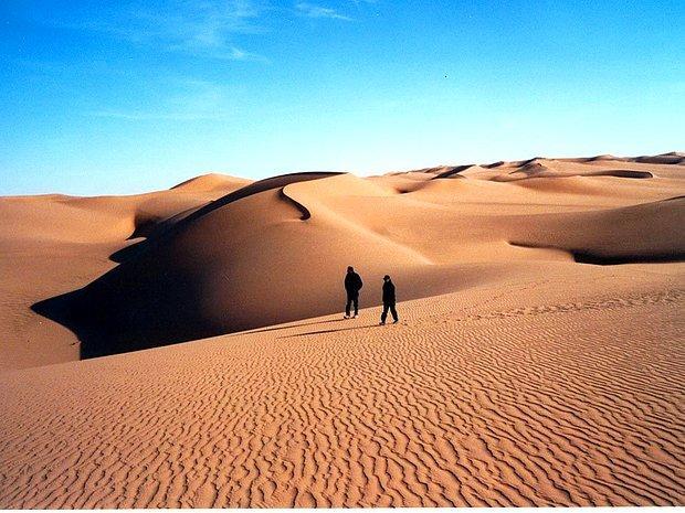 Sahra Çölü'nü aşmak