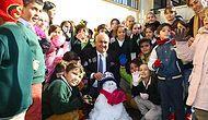 'Kar Yağmıyor' Diye Üzülen Öğrencilere Kamyonla Kar Getiren Koca Yürekli Başkan Mükerrem Tollu