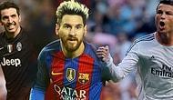 Futbolseverlerin Oylarıyla Belirlenen Avrupa'nın En İyi 11'i Açıklandı