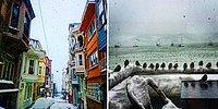 Kar Altında Bir Başka Güzel: Sosyal Medyadan Bembeyaz İstanbul Manzaraları