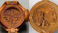 16. Yüzyılın Dini İkonografik Temalarını Taşıyan Birbirinden Güzel Minyatür Şimşir Oymalar