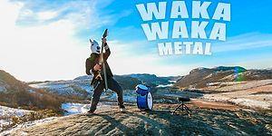 Shakira'nın Waka Waka Şarkısını Bir de Metal Dinleyin!