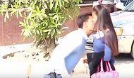Amerikalı Youtuber'lara Özenip Kadınları Öpen Adamın Başı Hindistan'da Belaya Girdi
