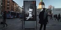 Yakınında Sigara İçilince Öksürerek Uyaran Reklam Panosu