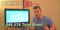 9 Saatini Harcayarak Excel'in Son Satırına Ulaşan İşsiz Adam