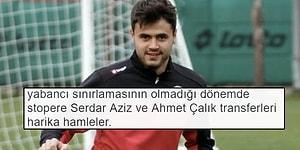 Galatasaray'ın Ahmet Çalık'ı Transfer Etmesinin Ardından Sosyal Medyaya Yansıyanlar