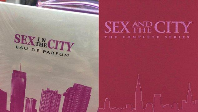 7. Meşhur diziyi Sex in the City diye hatırlayan çok ama gerçeği Sex and the City.