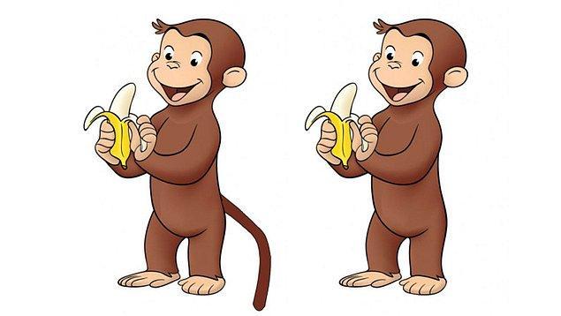 10. Ülkemizde Meraklı Maymun ismiyle yayınlanan Curious George isimli çizgi filmdeki maymunun, insanlar tam tersini hatırlıyor olsa da aslında bir kuyruğu bulunmuyor.