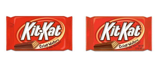 11. Kit Kat çikolatalarının logosunda iki kelime arasında bir çizgi varmış gibi hatırlıyorsak da aslında çizgi falan yok.