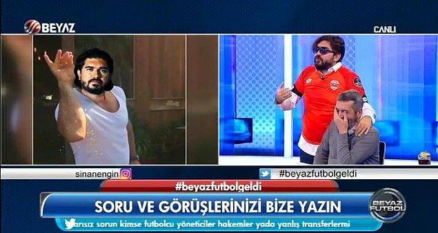 Spor medyasının en büyük trollü Rasim Ozan Kütahyalı, bu hareketiyle Fenerbahçelileri kızdırırken birçok futbolseveri de güldürdü.