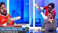 Beyaz Futbol Bildiğiniz Gibi! Rasim Ozan, Stüdyoya Adana Dürüm Getirtip Nusretçilik Oynadı