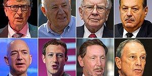 En Zengin 8 İş Adamının Serveti Dünya Nüfusunun Yarısının Mal Varlığıyla Eşit