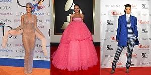 Attığı Her Adımla Olay Olan Rihanna'nın Geçmişten Günümüze Giydiği En Kötü 19 Kıyafet