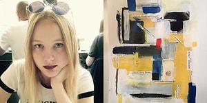 Üniversite Ret Mektubundan Harika Bir Sanat Eseri Ortaya Çıkaran Sanatçı Ruhlu Genç Kız