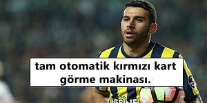 Kaptan Olarak Sahaya Çıkıp Kırmızı Kart Gören İsmail Köybaşı'na Fenerbahçe Taraftarından Tepki