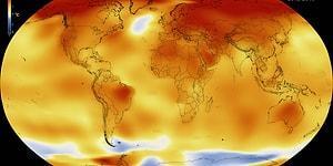 Küresel Isınma Gerçek: NASA 2016'nın Gelmiş Geçmiş En Sıcak Yıl Olduğunu Açıkladı!