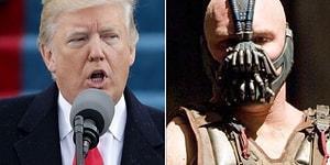 Donald Trump Açılış Konuşmasında Gotham'ın Kötü Karakteri Bane'den Alıntı Yaptı