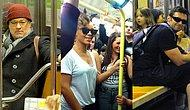 Kibir Yapmayıp Halkın Arasına Karışan Metrodaki 30 Ünlü