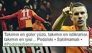 Takımdan Gitmesi An Meselesi Olan Podolski'ye Taraftarlar Sahip Çıktı