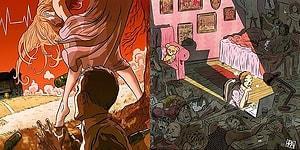 İspanyol Sanatçının Hayatın İçinden Acı Veren Durumları Ele Aldığı 19 İllüstrasyonu