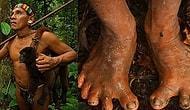 Ormanda Yalın Ayak Gezen ve İlkel Silahlarıyla Primat Avlayıp Yiyen Amazon Kabilesi
