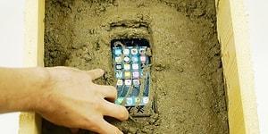 Çimento İçine Atılan iPhone 7'ye Ne Olur?
