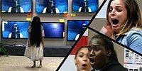 Ekrandan Çıkıp İnsanların Yanına Giderek Üç Buçuk Attıran 'Samara' Şakası