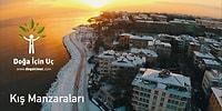 Beyaz Sana Yakışıyor Türkiye! Drone'larla Kış Manzaraları