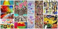 Bu Resimlerden Hangileri Modern Sanat Hangileri Çocukların Elinden Çıkma Bilebilir misin?