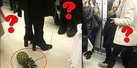 Ankara Metrosundaki 'Ananaslı Kadın'ın Sırrı Açığa Çıktı! Peki Bunu Neden Yaptı?