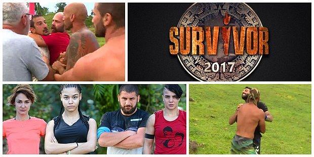 Mücadele, Kavga, Veda! Fırtına Gibi Başlayan Survivor 2017'de Geçtiğimiz Hafta Yaşananlar