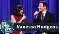 Vanessa Hudgens ve Jimmy Fallon'dan 'Friends'in Tema Müziğine Muhteşem Yorum