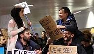 Trump Yasağına Karşı Yan Yana: Protestolarda Çekilen Fotoğrafın Ardındaki Güzel Öykü