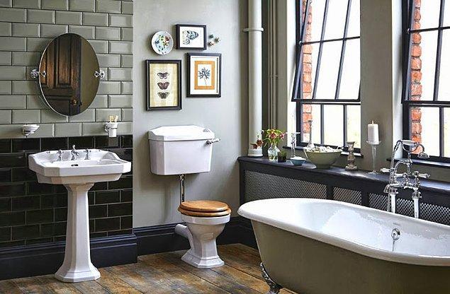 8. Orta Çağ'dan kalma, küveti doldurup içinde yıkanma geleneğini yaşatan banyolar