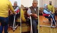 Engelli Bireyler ve Yaşlılar İçin Büyük Kolaylık Sağlayacak Alet Yapan Antalyalı Adam