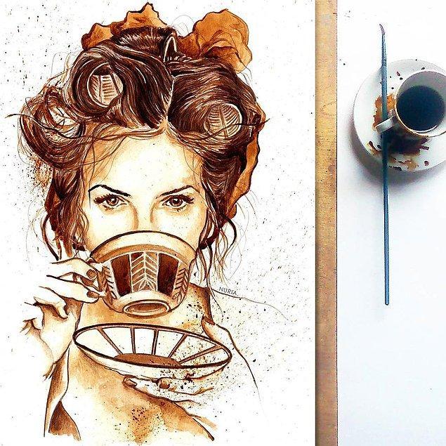 10. Kahve İçinde Kahve ☕