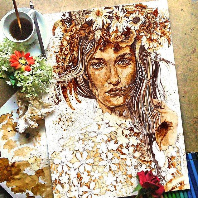 13. Çiçek Kız