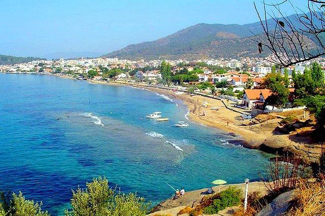 1. İzmir'in keşfedilmeyi bekleyen tatil beldesi: Özdere / İzmir