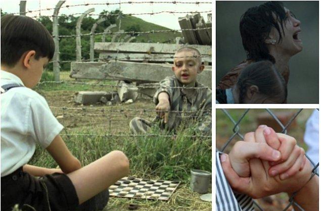 19. Çizgili Pijamalı Çocuk (The Boy in the Striped Pajamas) (2008)