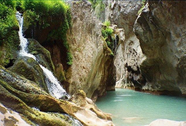 11. Dünya'nın en derin 2. kanyonu: Valla Kanyonu (Pınarbaşı) / Kastamonu