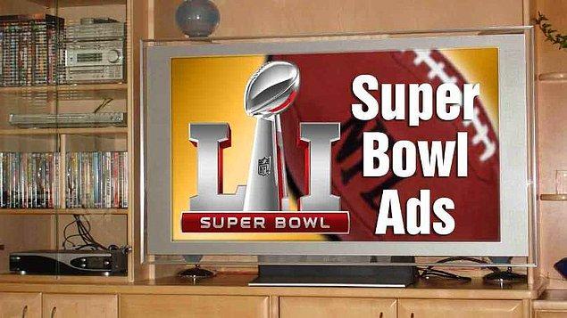 1. Bu sene 30 saniyelik bir televizyon reklamı 5 ila 5,5 Milyon Dolar arasında ücretlendirilecek.