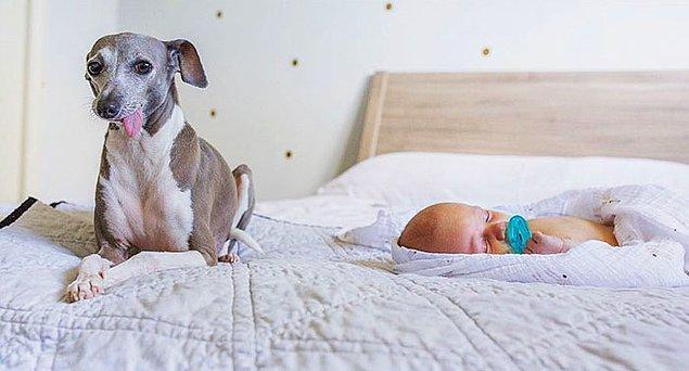 Mucizevi bir şekilde bebek Evan dünyaya geldiğinde Weezy onun yanında kendini rahat hissetmiş.